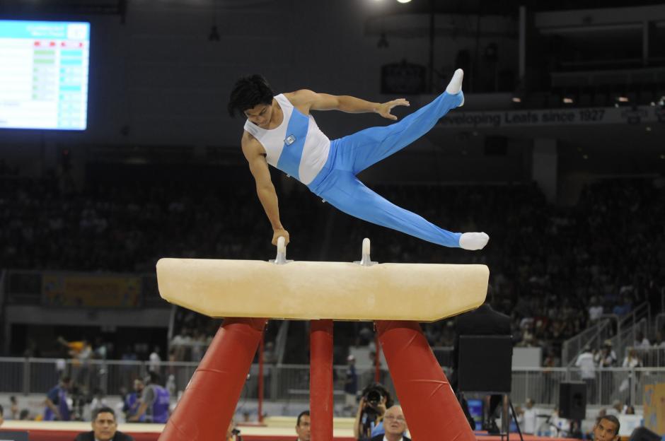 El gimnasta Jorge Vega saldrá el próximo lunes en busca de las medallas, en la gimnasia panamericana.(Foto: Alvaro Yool/ Nuestro Diario)