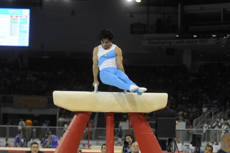 El guatemalteco Jorge Vega tuvo un gran desempeño, clasificándose a tres finales individuales.(Foto: Alvaro Yool/ Nuestro Diario)