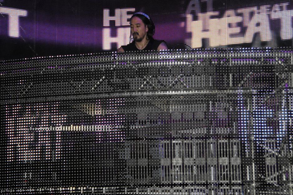 Steve AokiDJ es un músico y productor musical estadounidense de electrohouse. (Foto: Luis Barrios/Soy502)