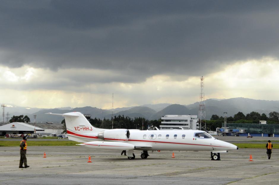 Los detenidos fueron trasladados desde Chiapas, México por el Procuraduría General mexicana.