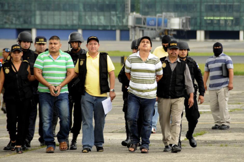 """""""Guayo"""" fue capturado en México junto a su primoEdgar Waldiny Herrera Villatoro, alias """"Gualas""""."""