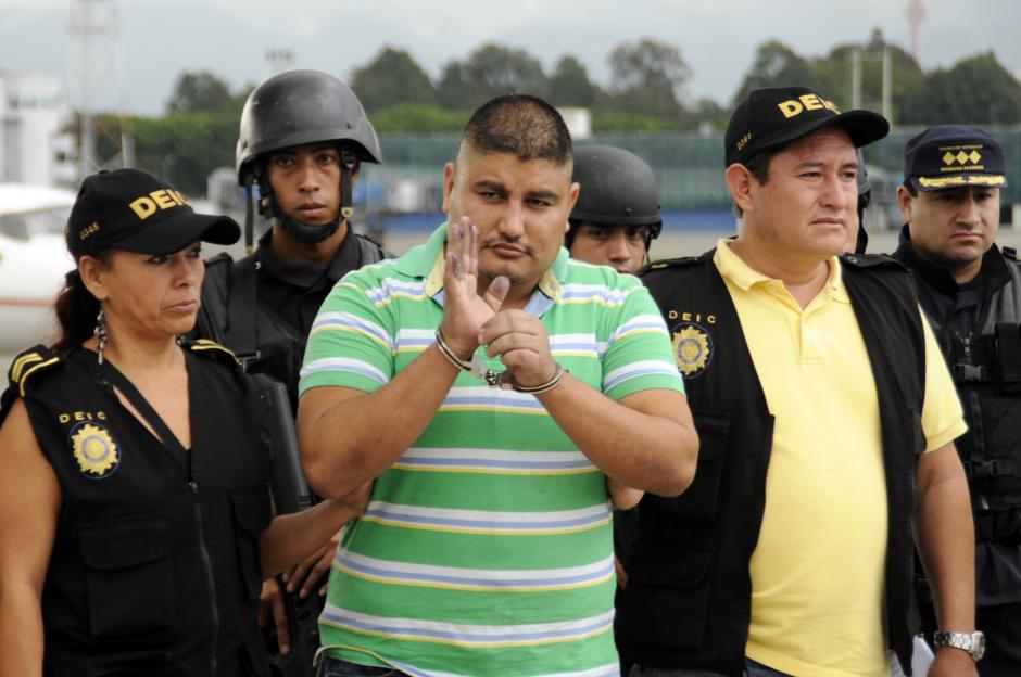 El supuesto narcotraficante Eduardo Villatoro Cano esta acusado del asesinato de nueve policías guatemaltecos.