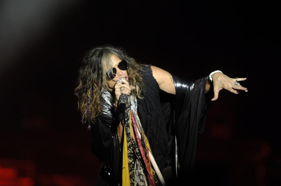 Aerosmith impresionó con su dinamismo durante el concierto que se llevó a cabo en Guatemala.