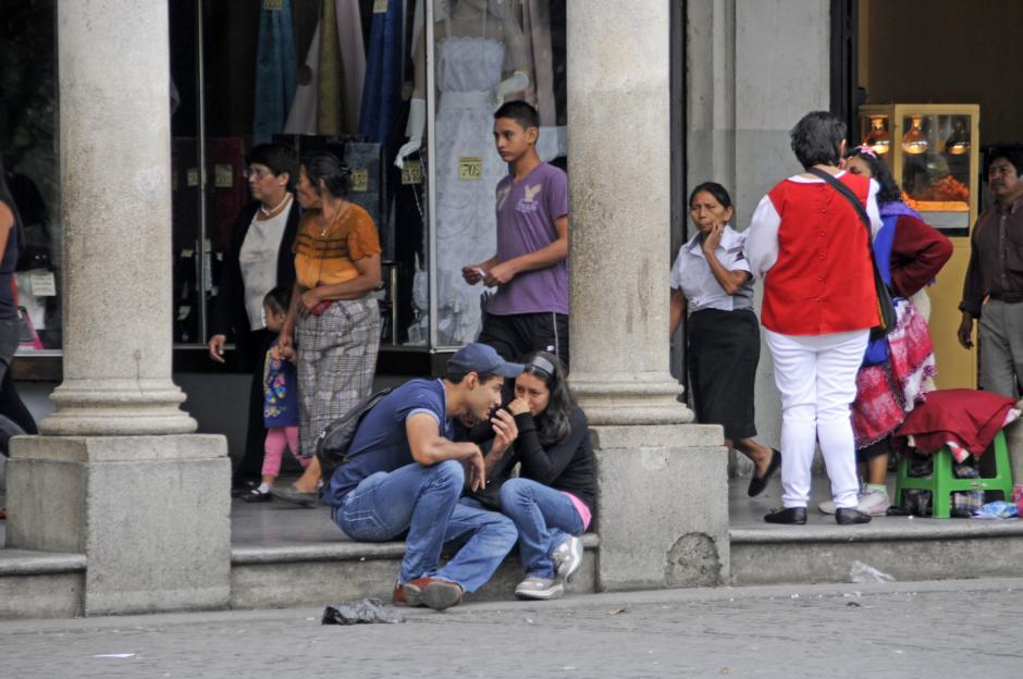 El Portalito en el Centro Histórico es un buen lugar para reunirse. (Esteban Biba/Soy502)
