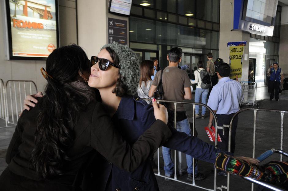 Gaby Moreno mandó un saludo a sus seguidores antes de sus conciertos en Guatemala. (Foto: Esteban Biba/Soy502)