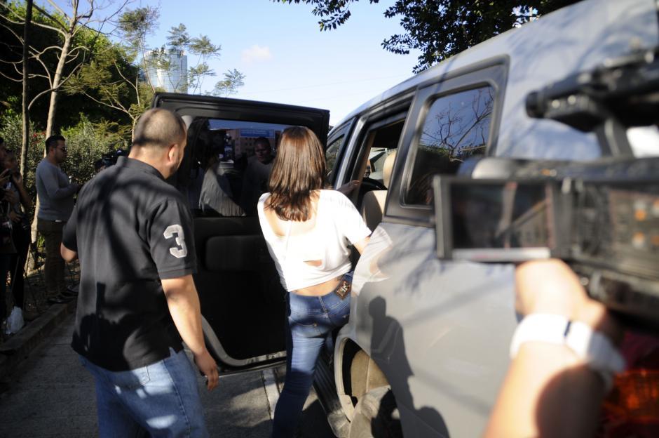 Sonia fue trasladada a la embajada de Estados Unidos. (Esteban Biba/Soy502)