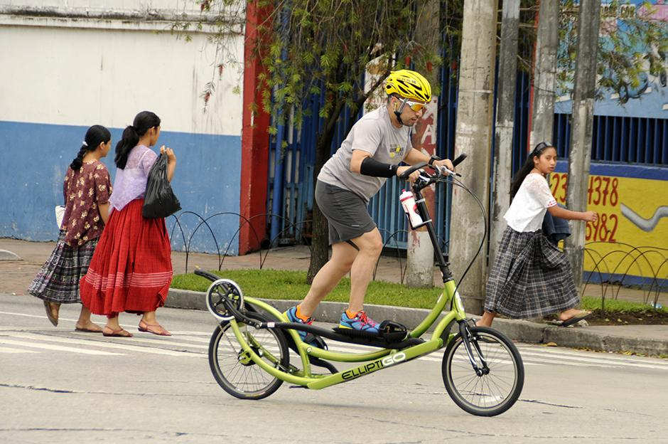 Día sin autos Guatemala