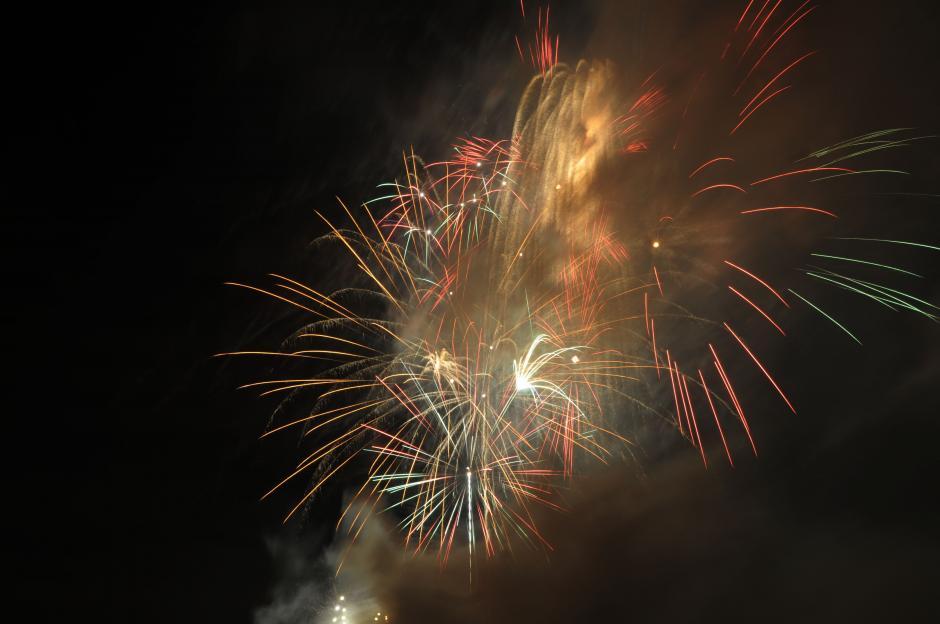 El evento estuvo a cargo de la empresa guatemalteca Fireworks Entertainment Service (FES). (Esteban Biba/Soy502)