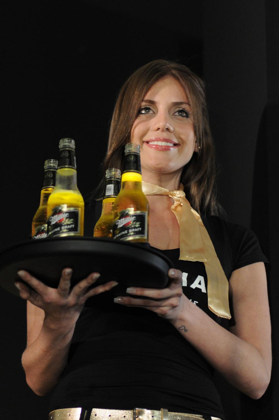 La cerveza Miller Genuine Draft se caracteríza por ser ligera en el paladar capaz de satisfacer a los clientes más exigentes en el mercado de cervezas Premium. (Foto: Esteban Biba/Soy502)