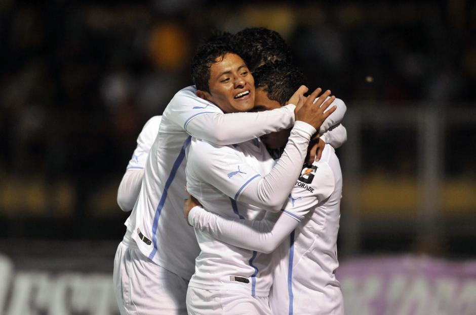 Bryan Ordoñez anotó el gol de los cremas a los 5 minutos del encuentro. (Diego Galeano/Nuestro Diario)