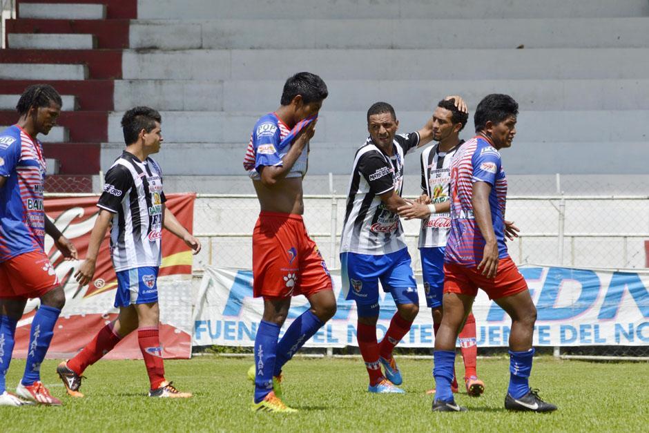 Heredia derrotó 3-2 a Iztapa en el estadio Del Monte, en Morales, Izabal. (Foto: Nuestro Diario)