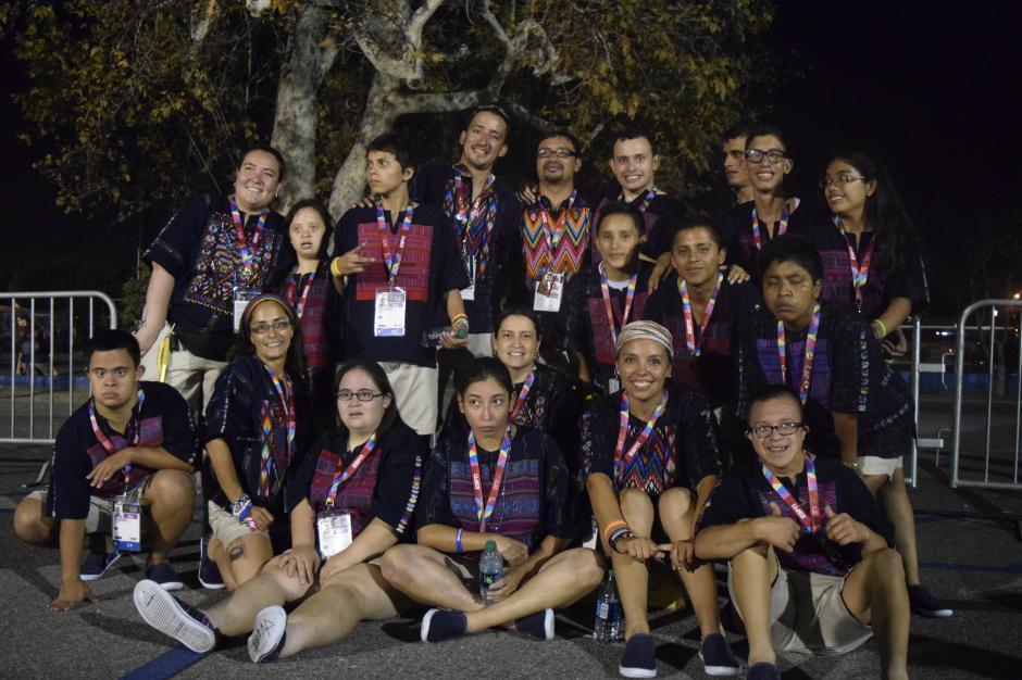 Tras finalizar el evento, los guatemaltecos esperan dar lo mejor para poner en alto el nombre del país.(Foto Giovanni Bautista/Soy502)