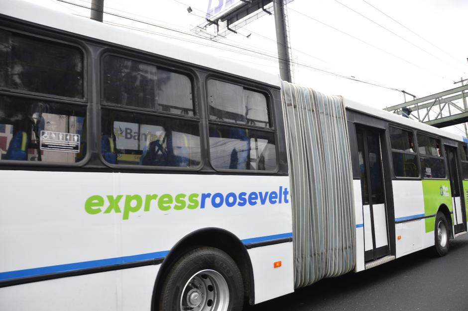 Son 10 los buses articulados que empezarán a funcionar este fin de semana. (Foto: Muni Mixco)