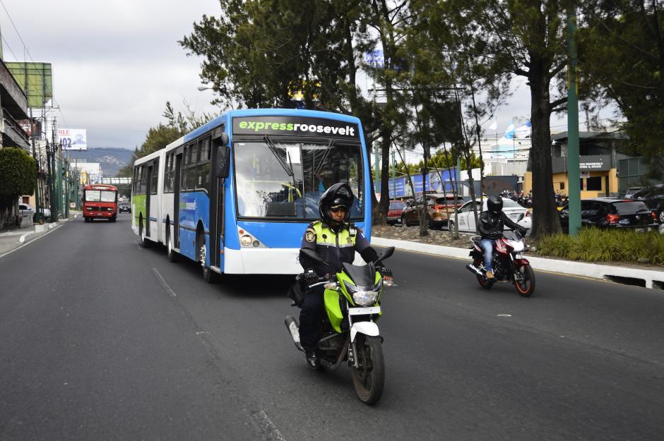 Agentes motorizados acompañarán a las unidades. (Foto: Muni Mixco)