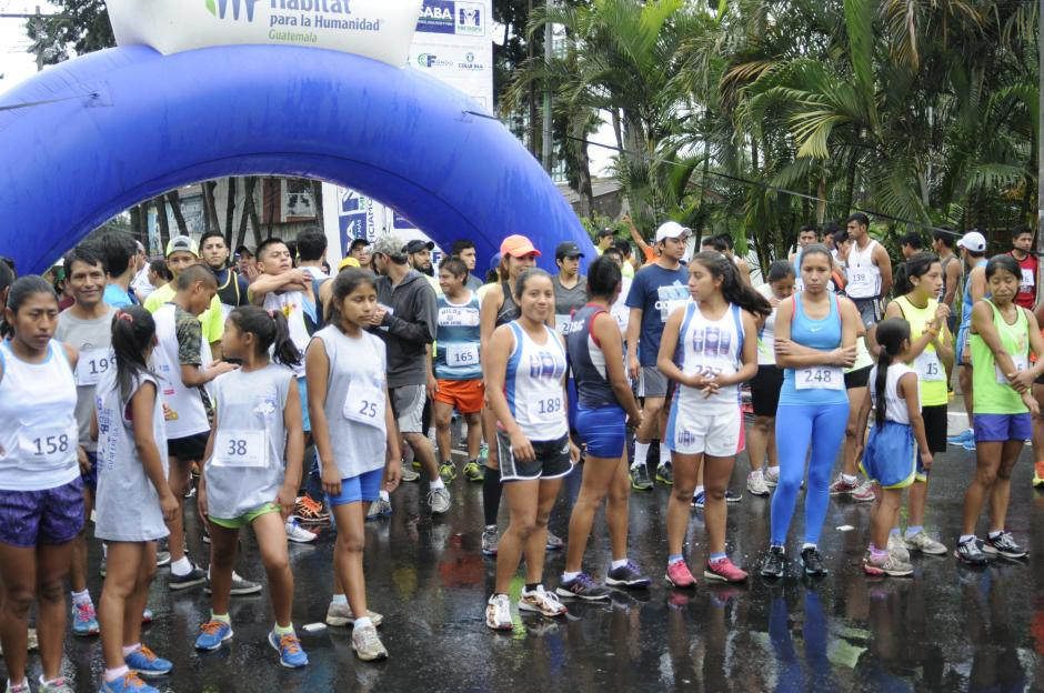 La Fundación Hábitat para la Humanidad Guatemala, organizó la carrera que se desarrolló en el capus central de la Universidad de San Carlos en la zona 12.(Foto: Pedro Pablo Mijangos/Soy502)