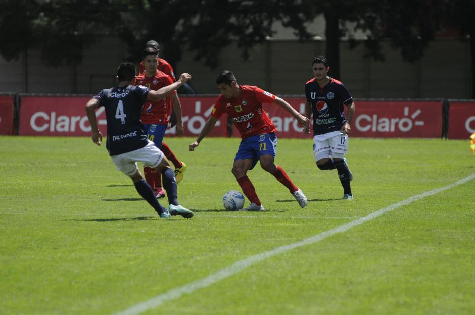 Municipal consiguió en el estadio revolución su primer triunfo fuera de casa en el torneo Apertura 2015. (Foto: Pedro Mijangos)