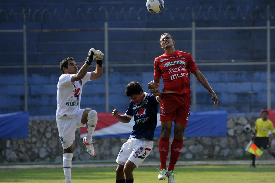 Usac, Malacateco, Empate, Clausura 2014. LNF