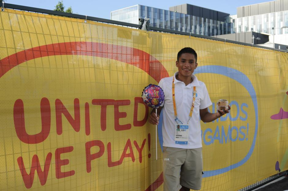 Mario será uno de los representantes de Guatemala en atletismo.(Foto: Pedro Pablo Mijangos/Soy502)