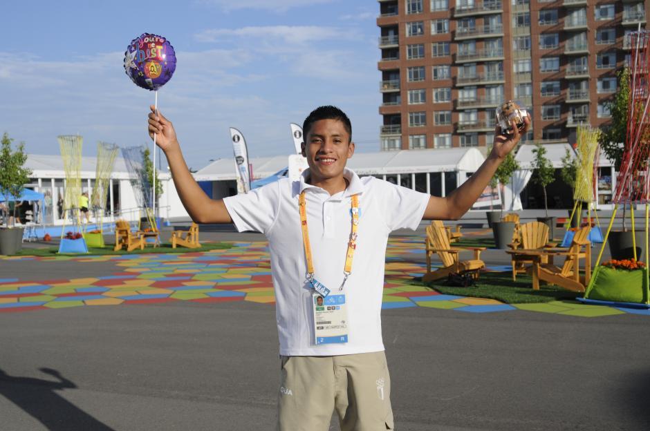 Mario sueña con levantar los brazos en la meta este martes cuando debute en Juegos Panamericanos.(Foto: Pedro Pablo Mijangos/Soy502)