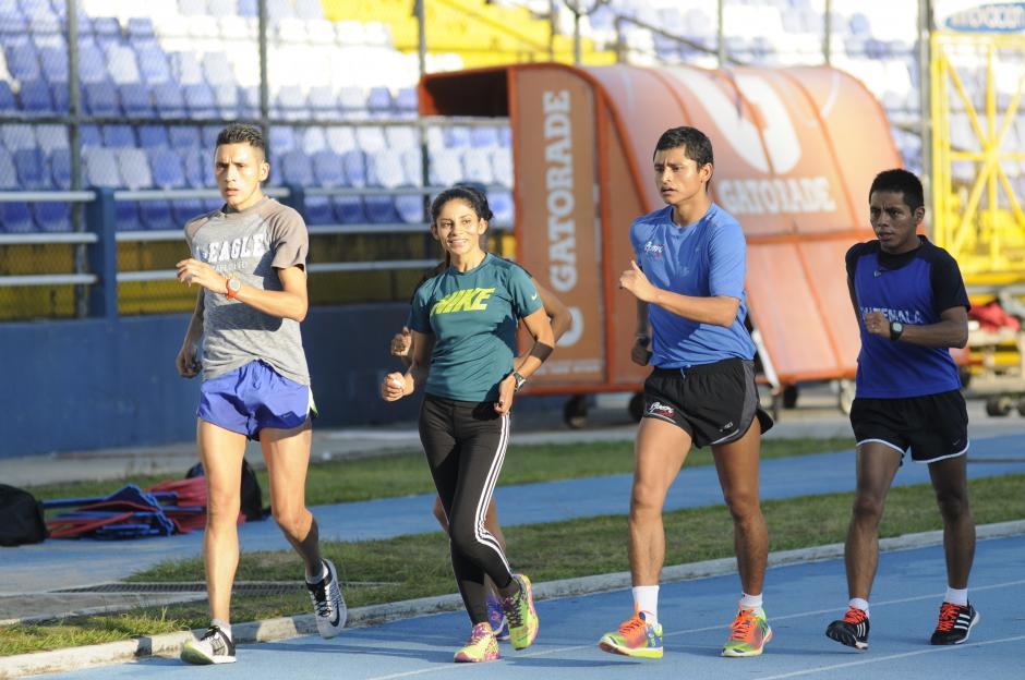La Selección de marcha es una de las más destacadas en el deporte guatemalteco. Tienen siete plazas aseguradas para los Juegos Olímpicos de Río de Janeiro 2016. (Foto: Pedro Pablo Mijangos/Soy502)
