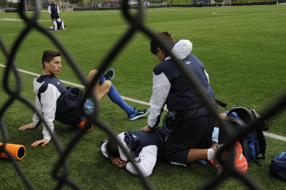 La Selección Guatemalteca de Fútbol se encuentra en los entrenamientos, de cara a su debut en Copa Oro 2015, el próximo jueves frente a frente a Trinidad y Tobago. (Foto: Aldo Martínez/NuestroDiario)