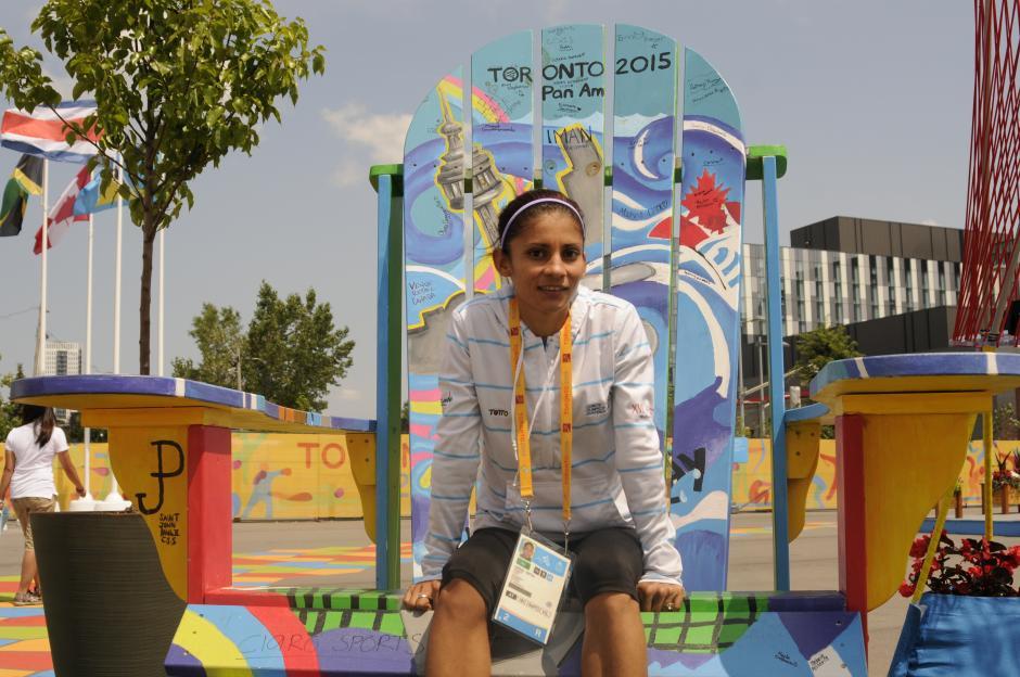 Mirna Ortiz competirá en sus segundos Juegos Panamericanos; en los primeros se quedó con la medalla de plata. (Foto: Pedro Pablo Mijangos/Soy502)