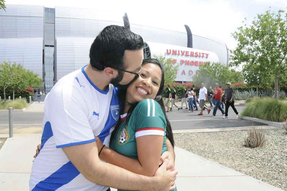 Una feliz pareja entre un guatemalteco y una mexicana