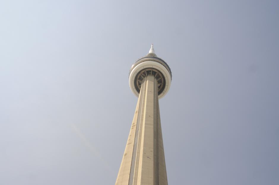 Este es el punto más alto de la Torre, locación donde fue tomada la primera fotografía de la galería.(Foto: Pedro Pablo Mijangos/Soy502)
