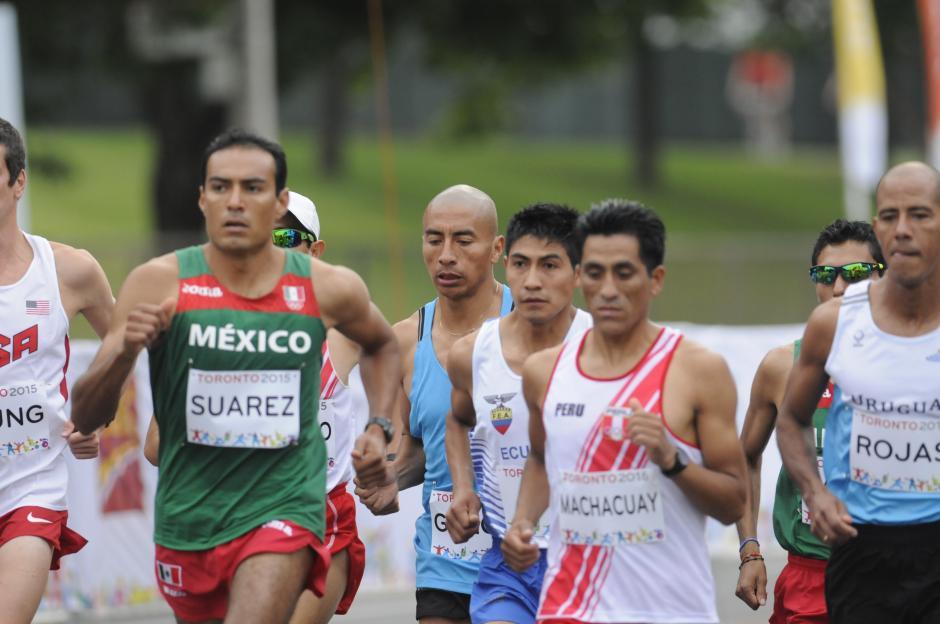 Amado quedó muy lejos del podio en los Juegos Panamericanos, de Toronto 2015.(Foto: Pedro Pablo MIjangos/Soy502)