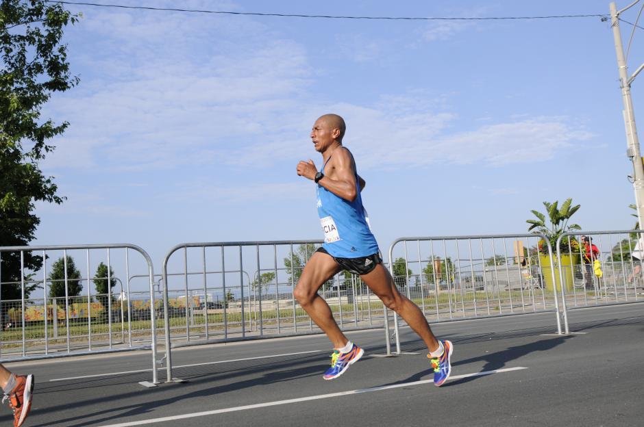 Jose Amado manifestó que continuará y peleará por la marca para Río.(Foto: Pedro Pablo MIjangos/Soy502)