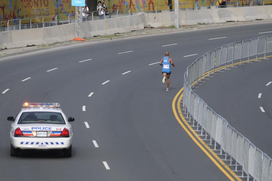 Amado perdió ritmo desde el kilómetro 15, y no se pudo reponer.(Foto: Pedro Pablo MIjangos/Soy502)