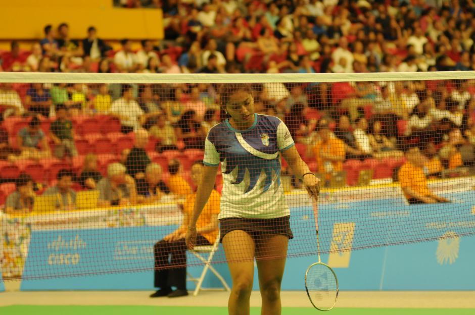 Nikté Sotomayor cayó dos sets a cero con la mexicana Mariana Ugalde.(Foto: Pedro Pablo Mijangos/Soy502)