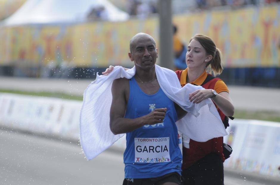 Amado García terminó la prueba por arriba de las dos horas y 28 minutos.(Foto: Pedro Pablo MIjangos/Soy502)