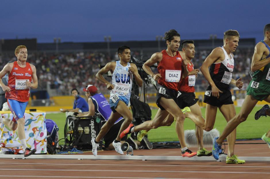 Mario Pacay debutó en Panamericanos en las pruebas de 5,000 y 10,000 metros planos. (Foto: Pedro Pablo Mijangos/Soy502)
