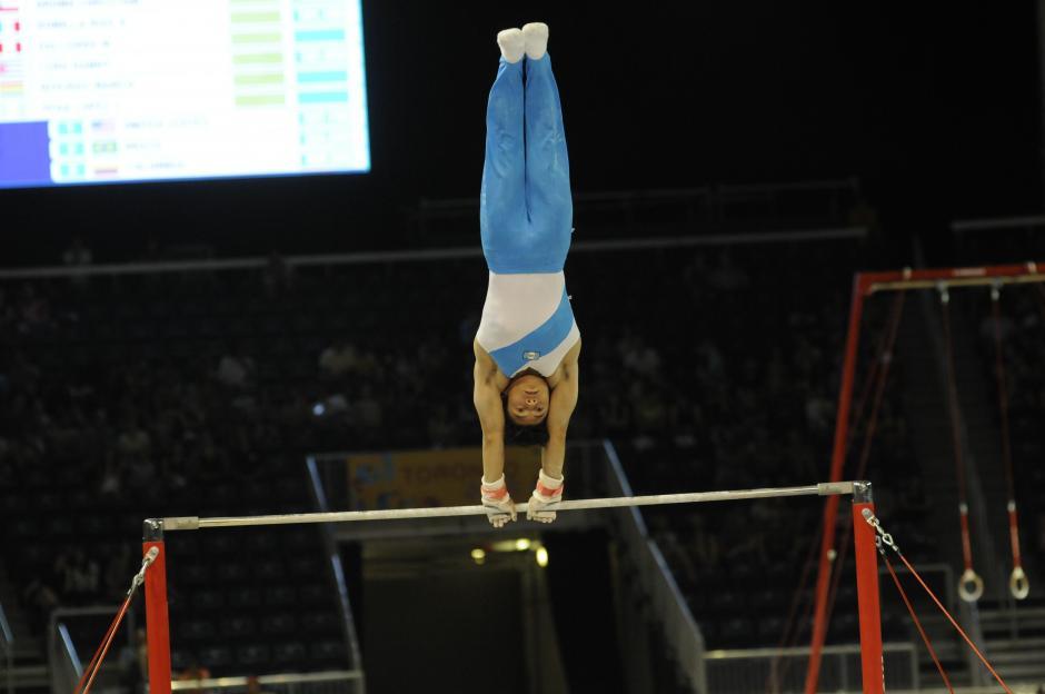 Jorge Vega peleará por las medallas en las finales individuales. (Foto: Pedro Pablo Mijangos/ Soy502)