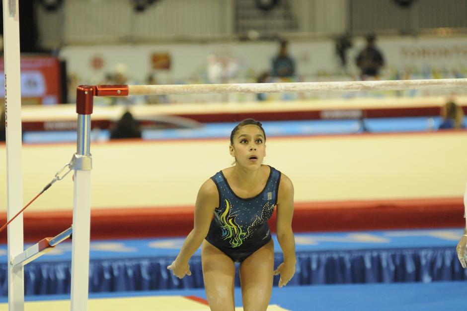 Ana Sofía Gómez consiguió dos medallas en los Juegos Panamericanos de Guadalajara 2011. (Foto: Pedro Mijangos/Soy502)