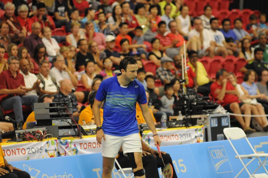 Kevin Cordón aseguró una medalla de oro o plata en Panamericanos. (Foto: Pedro Mijangos/Soy502)