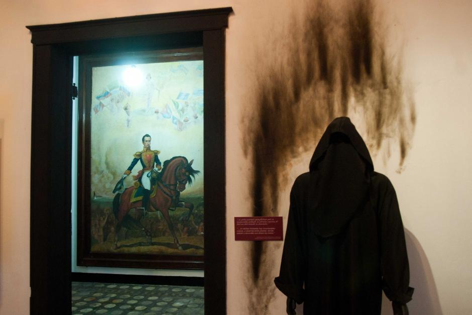 Los españoles ocuparon todos los espacios y comenzaron a hacer valer su poder de diferentes formas, lo que se trata de representar en diferentes zonas del museo. (Foto: Jesús Alfonso/Soy502)