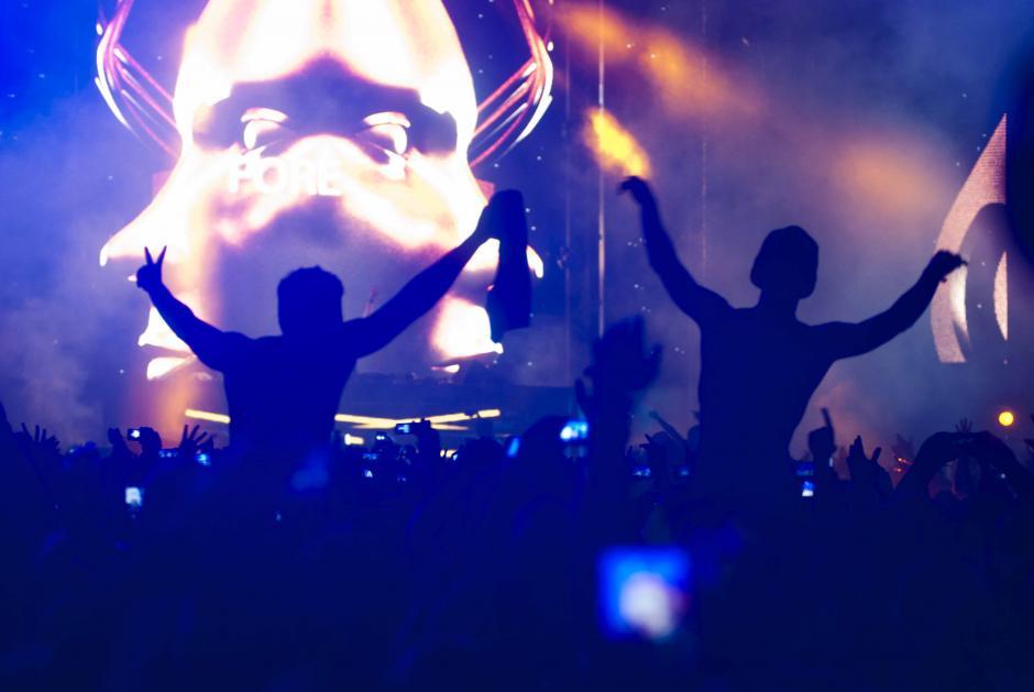Un concierto inolvidable según los asistentes, por algo Hardwell es el número 1 entre los DJ. (Foto: Jesús Alfonso/Soy502)
