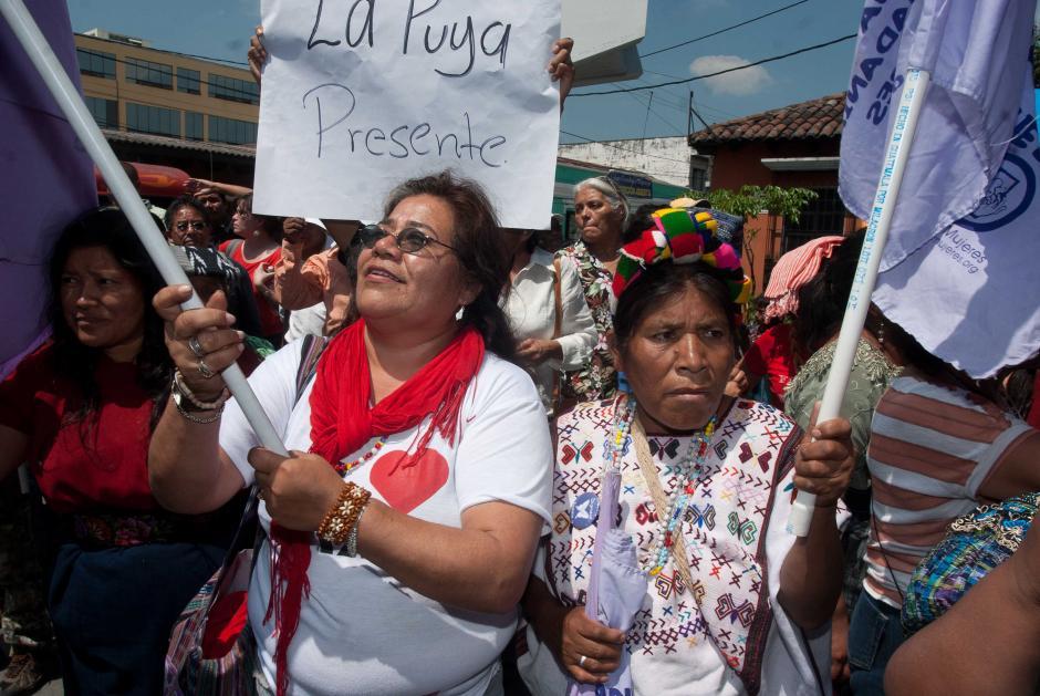 Diferentes sectores de la sociedad mostraron su apoyo a la Fiscal General durante la audiencia. (Foto: Jesús Alfonso/Soy502)