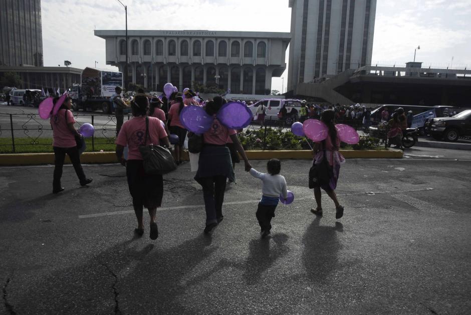 El 8 de marzo fue fijado como Día Internacional de la Mujer. (Foto: Jesús Alfonso/Soy502)