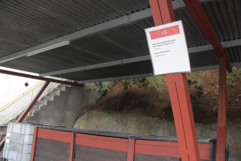 El producto final sirve para abonar las áreas verdes de la planta La Luz. (Foto: Fredy Hernández/Soy502)
