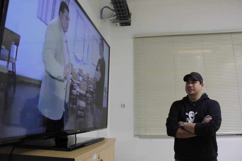 Gilberto Soto es el fundador del proyecto Guatespantos, el cual ha tenido mucha aceptación en el país. (Foto: Fredy Hernández/Soy502)