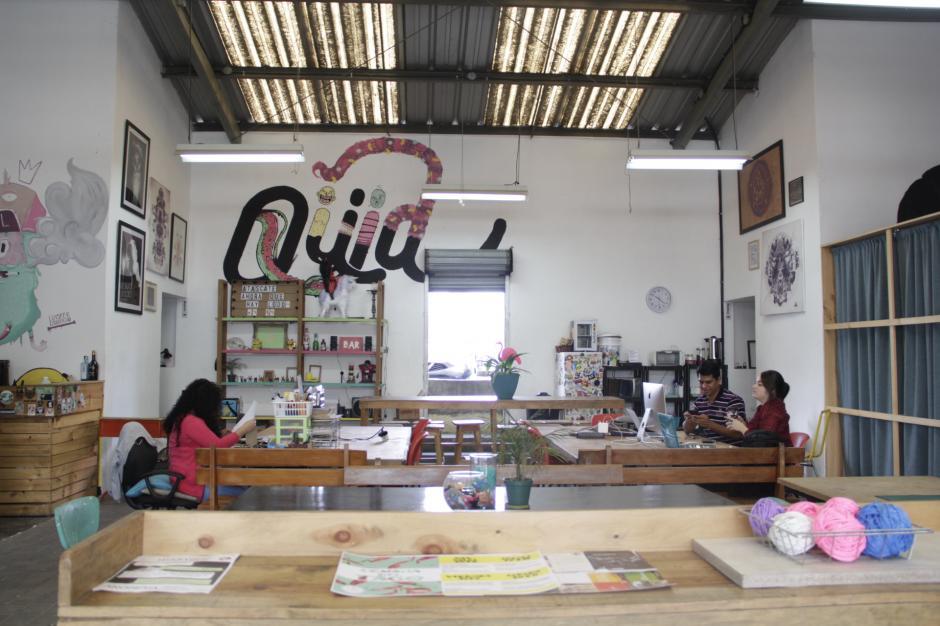 El Qüid también ha sido fundamental para que los emprendedores busquen un sitio agradable de trabajo. (Foto: Fredy Hernández/Soy502)