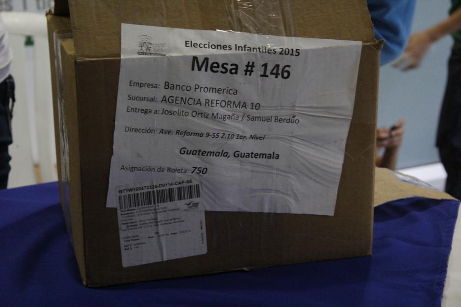 Las mesa 146 cerró oficialmente las elecciones infantiles del país.(Foto: Fredy Hernández/Soy502)