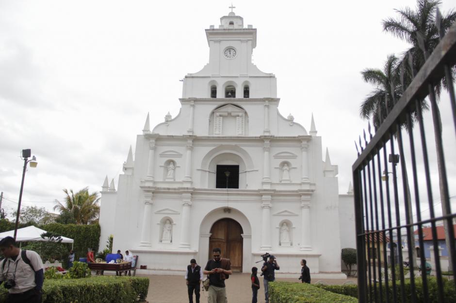 La iglesia parroquial albergó cerca de 100 años a la imagen hasta 1759. (Foto: Fredy Hernández/Soy502)