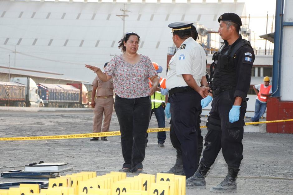 El cargamento fue trasladado vía aérea a las bodegas de la Policía Antinarcótica. Foto:PNC