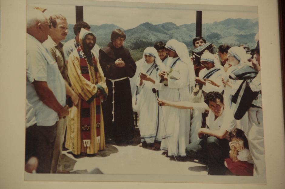 La madre Teresa de Calcuta visitó el lugar en 1982. (Foto: Fredy Hernández/Soy502)