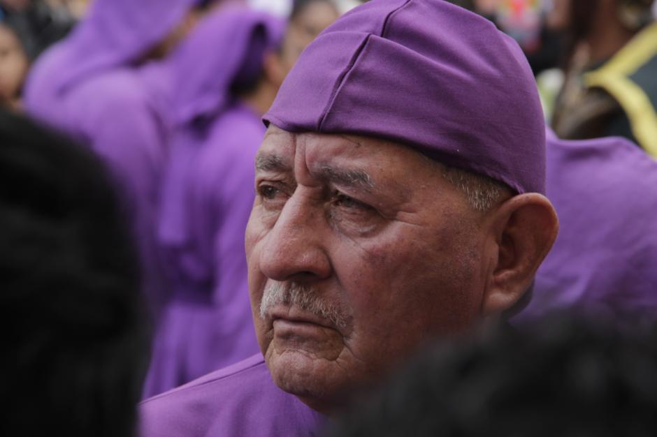 Es uno de los cortejos más concurridos en la cuaresma en Antigua Guatemala. (Foto: Fredy Hernández/Soy502)