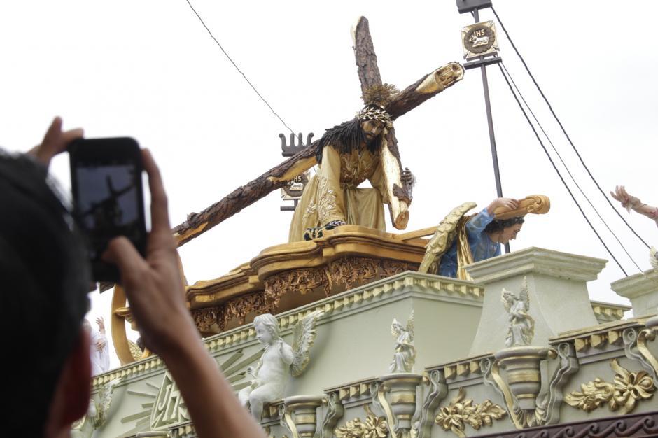 La imagen fue esculpida por el antigüeño Pedro de Mendoza alrededor de 1640. (Foto: Fredy Hernández/Soy502)